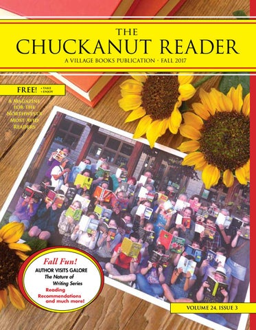Chuckanut reader fall 2017 by village books paper dreams issuu page 1 fandeluxe Choice Image
