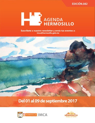 "Cover of ""Agenda Hermosillo 1 sep 2017"""
