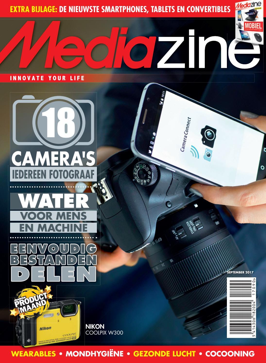 e4da228e16b5fa Mediazine Belgie September 2017 by Mediazine België Belgique - issuu