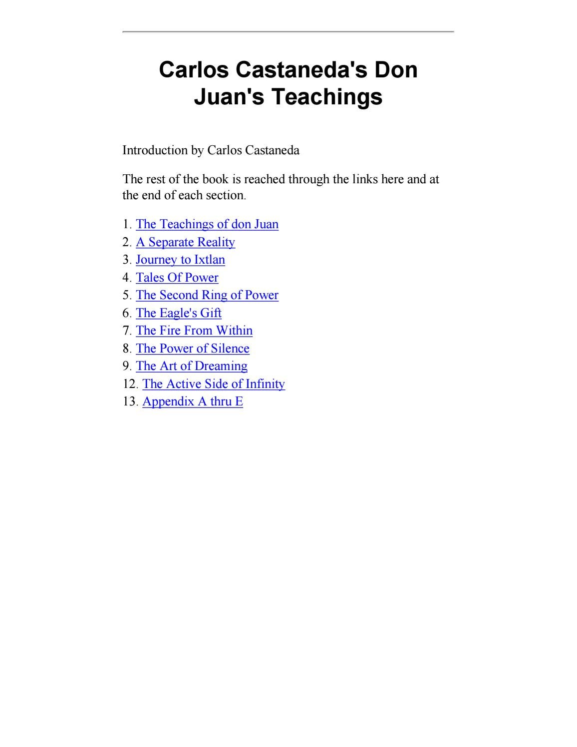 The Teachings of Don Juan Carlos Castaneda Women/'s T shirt American Apparel