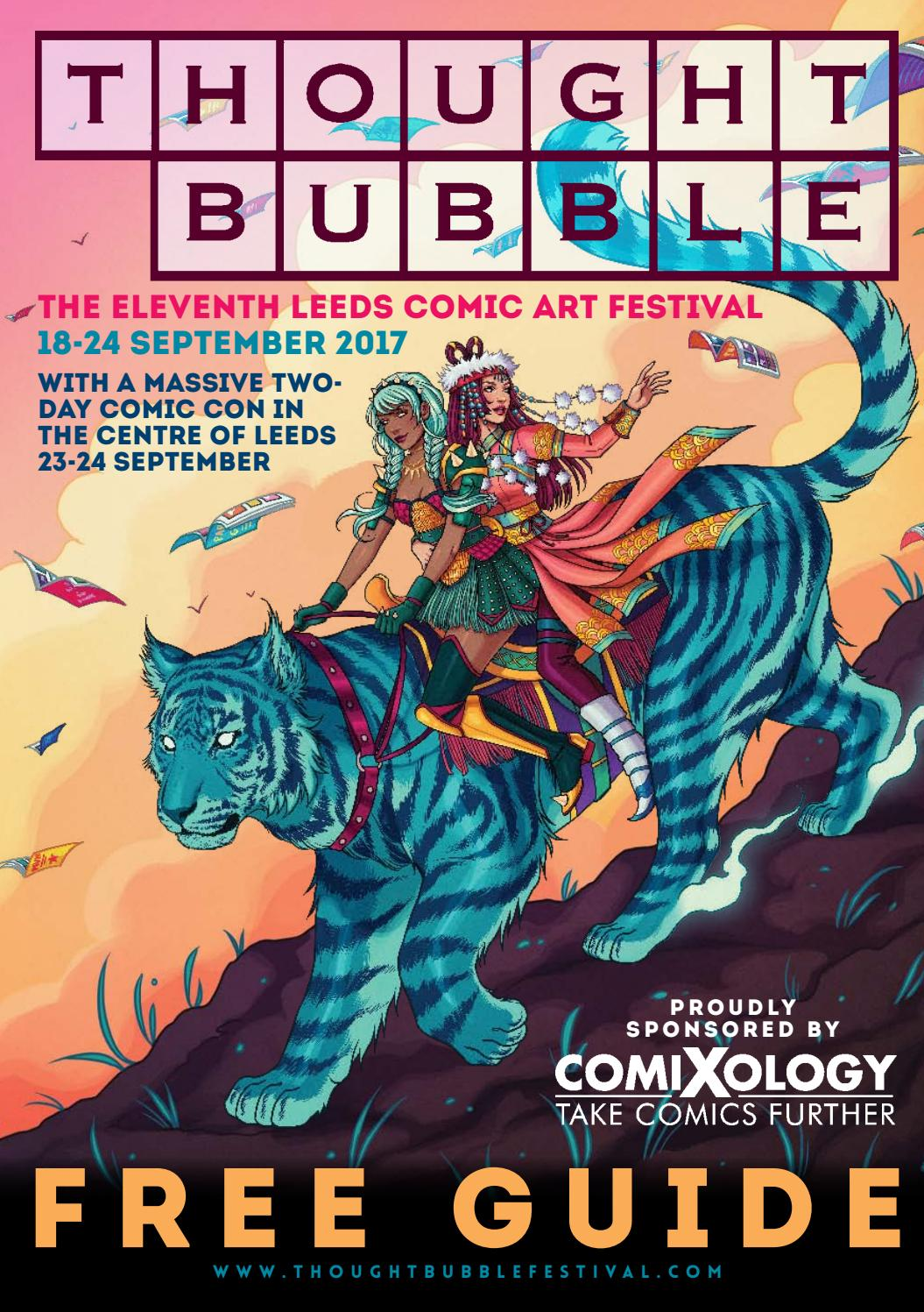 Thought bubble festival 2017 guide by thought bubble comic art thought bubble festival 2017 guide by thought bubble comic art festival issuu gamestrikefo Image collections