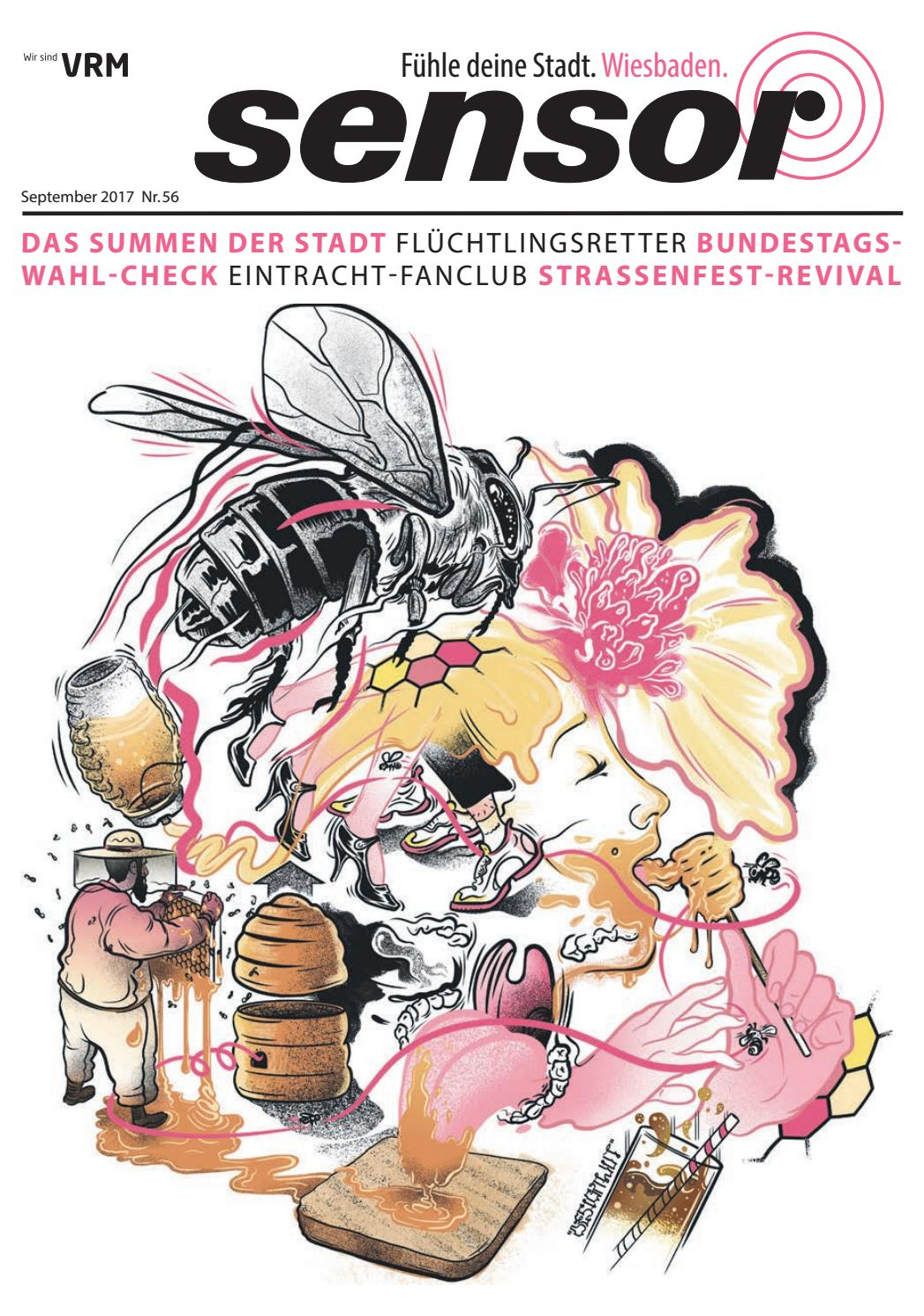 sensor Wiesbaden #56 September 2017 by sensor Magazin