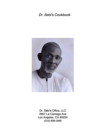 Dr Sebi's Cookbook by RISE4WAR COMMUNITY LITERATURE - issuu