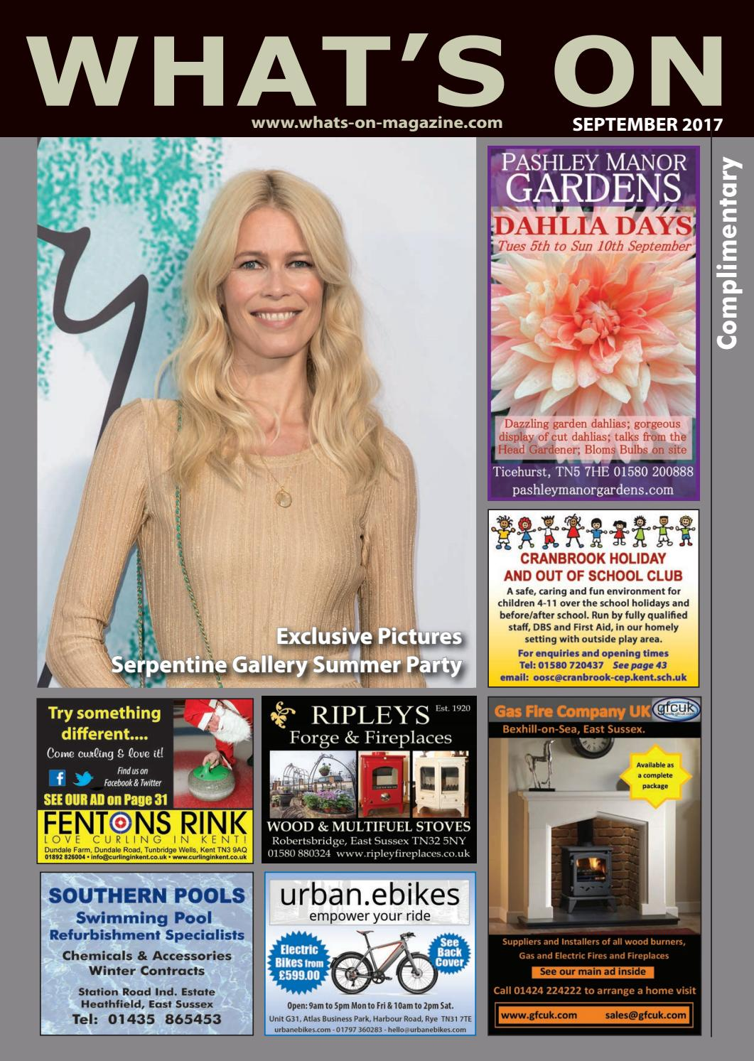 Whats On Magazine September 2017 By Michael Townsend Issuu