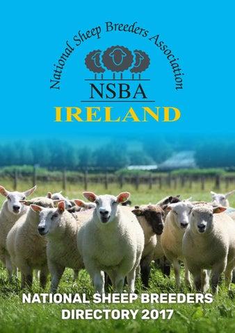 NSBA Ireland National Sheep Breeders Directory 2017 by Irish