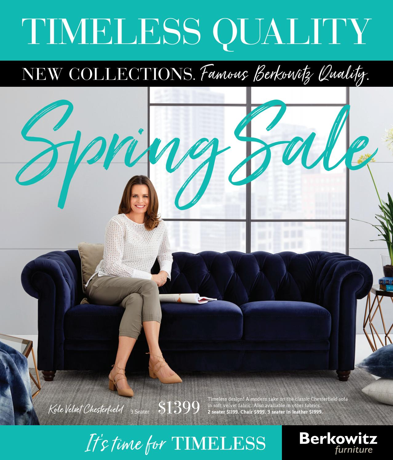 Berkowitz spring catalogue 2017