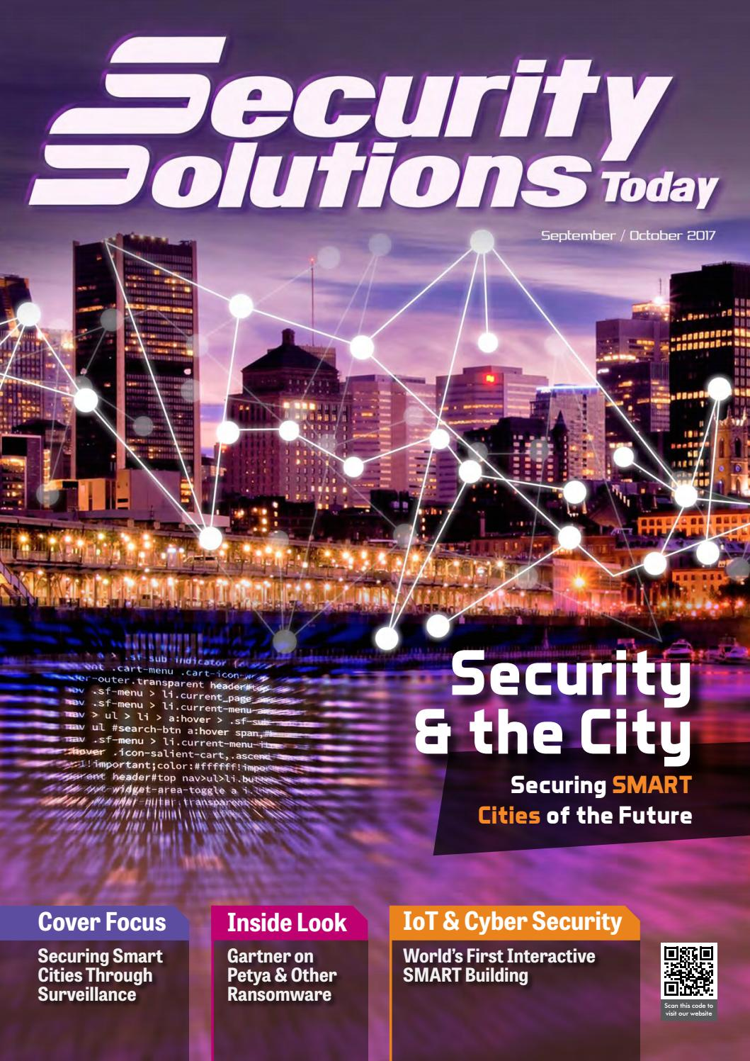 Security Solutions Today Sep Oct 2017 By Hot Springs Heater Circuit Board With Trace Saver Issuu