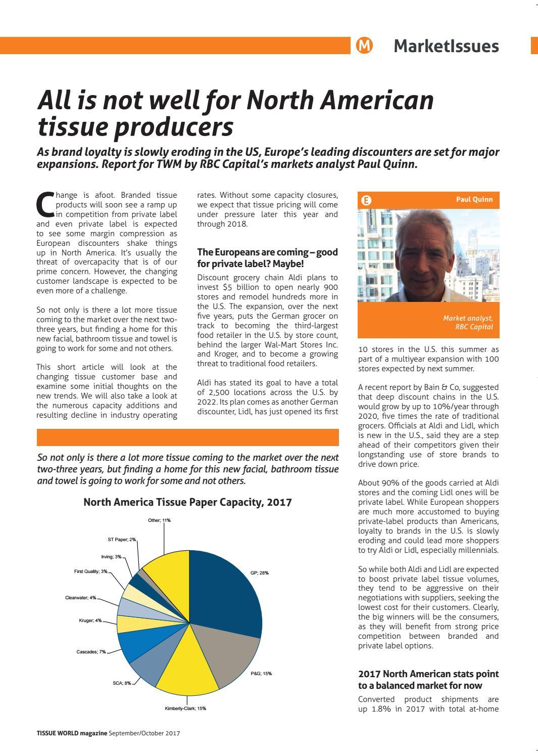Tissue World Magazine September/October 2017 by Tissue World