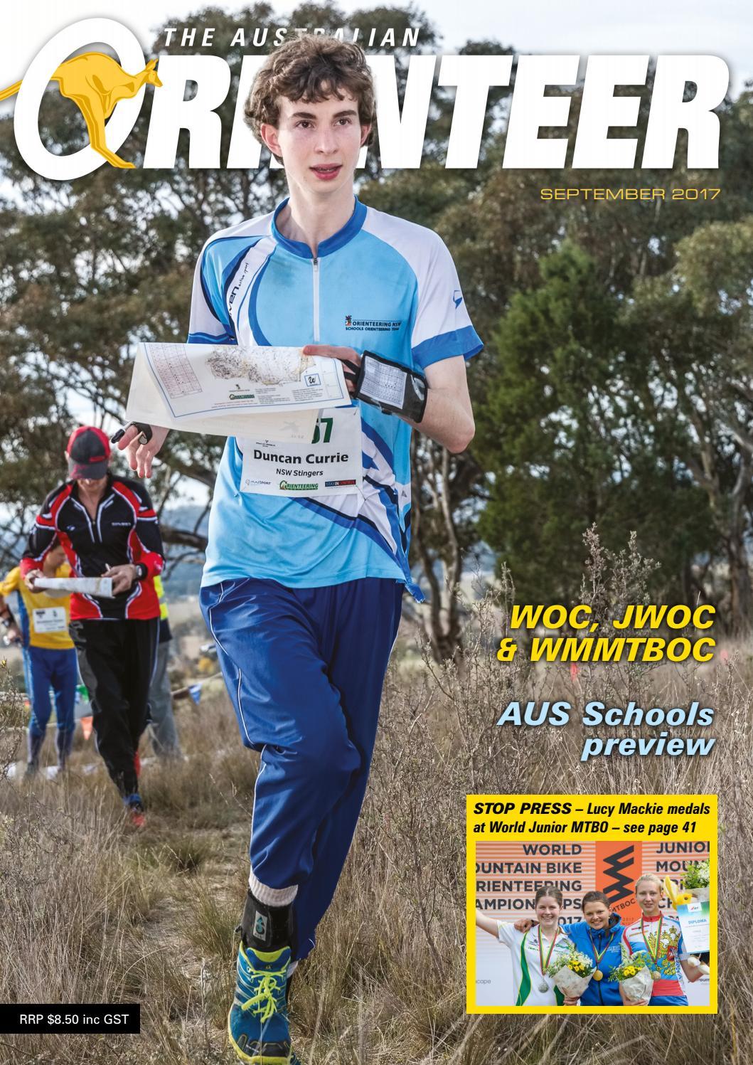 f4da86c7d1b The Australian Orienteer – September 2017 by Orienteering Australia - issuu