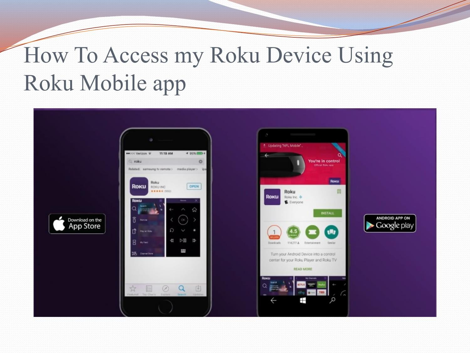 how to change roku account