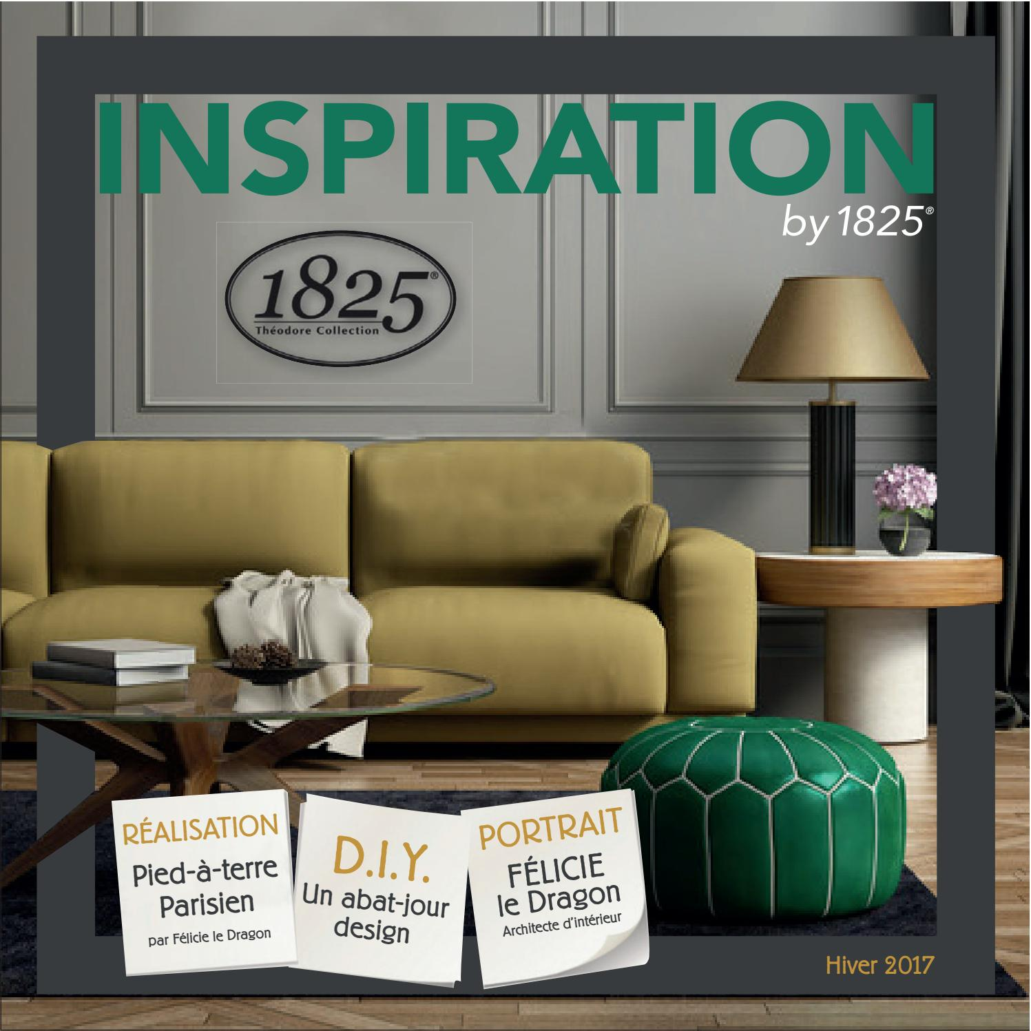 1825 Inspirations Magazine Hiver 2017 By Peintures 1825 Issuu