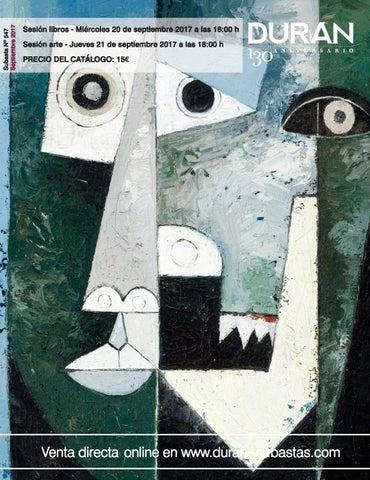 60ec18a7c09a DURAN SUBASTAS SEPTIEMBRE 2017 ARTE by Consuelo Duran - issuu