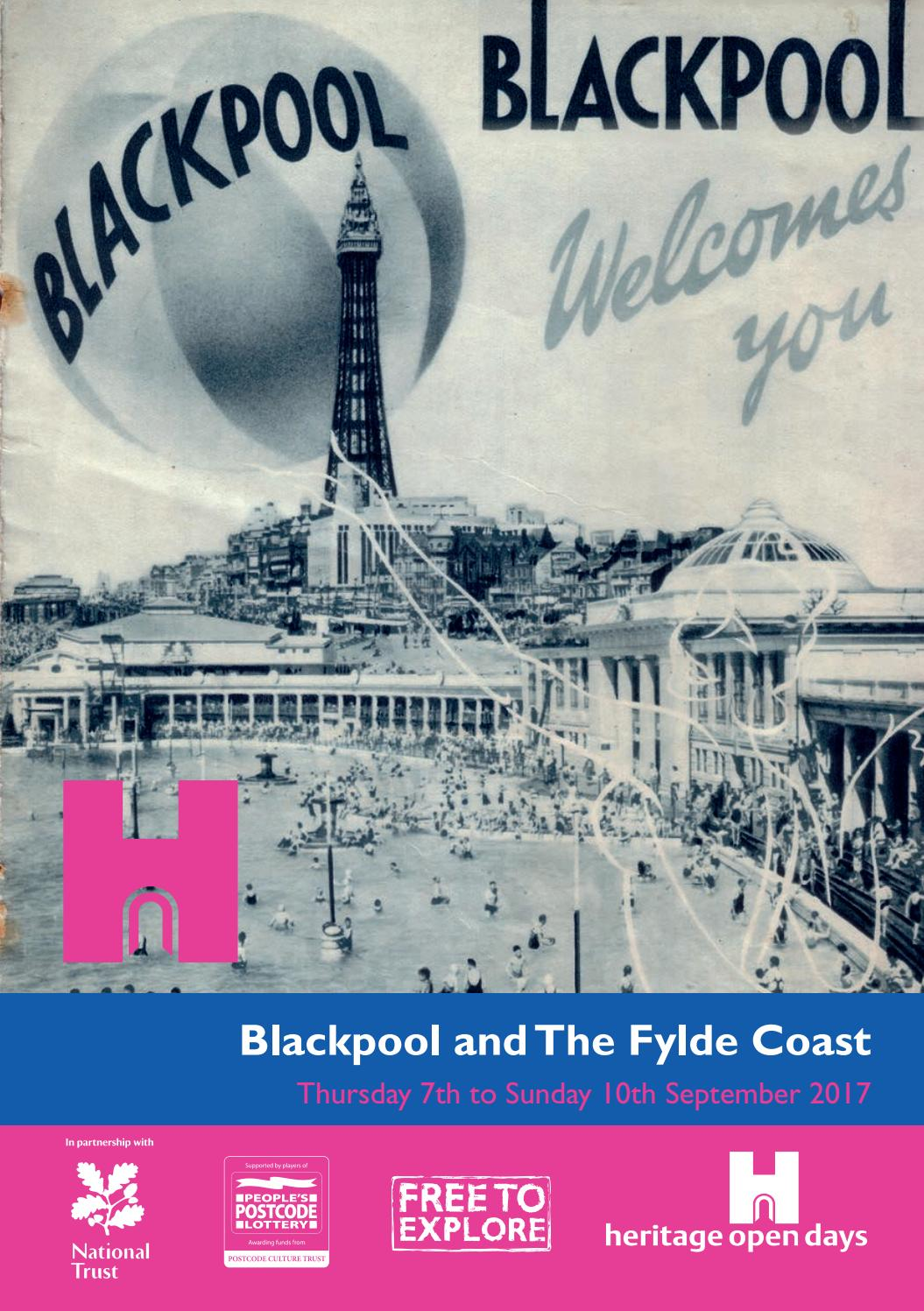 Blackpool Amp The Fylde Coast Heritage Open Day By
