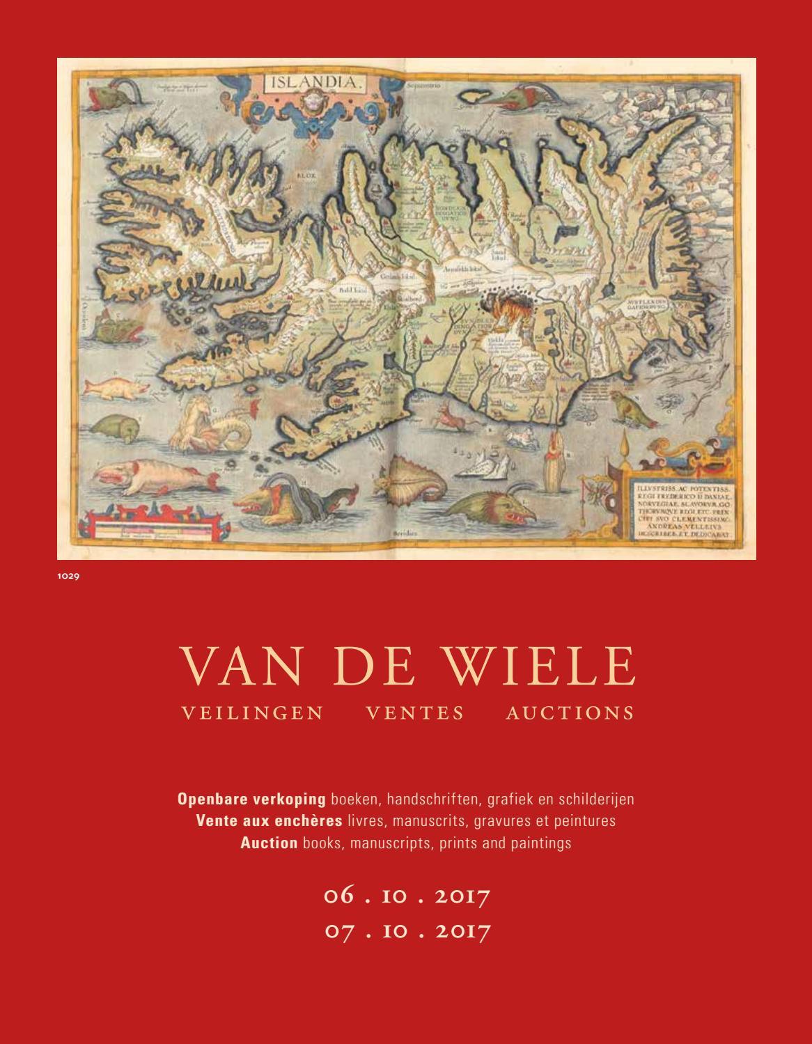 Catalogue 6 7 October 2017 By Uitgeverij Van De Wiele Issuu