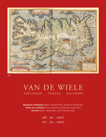 395b810a8c5d1 Catalogue 6-7 October 2017 by Uitgeverij Van de Wiele - issuu