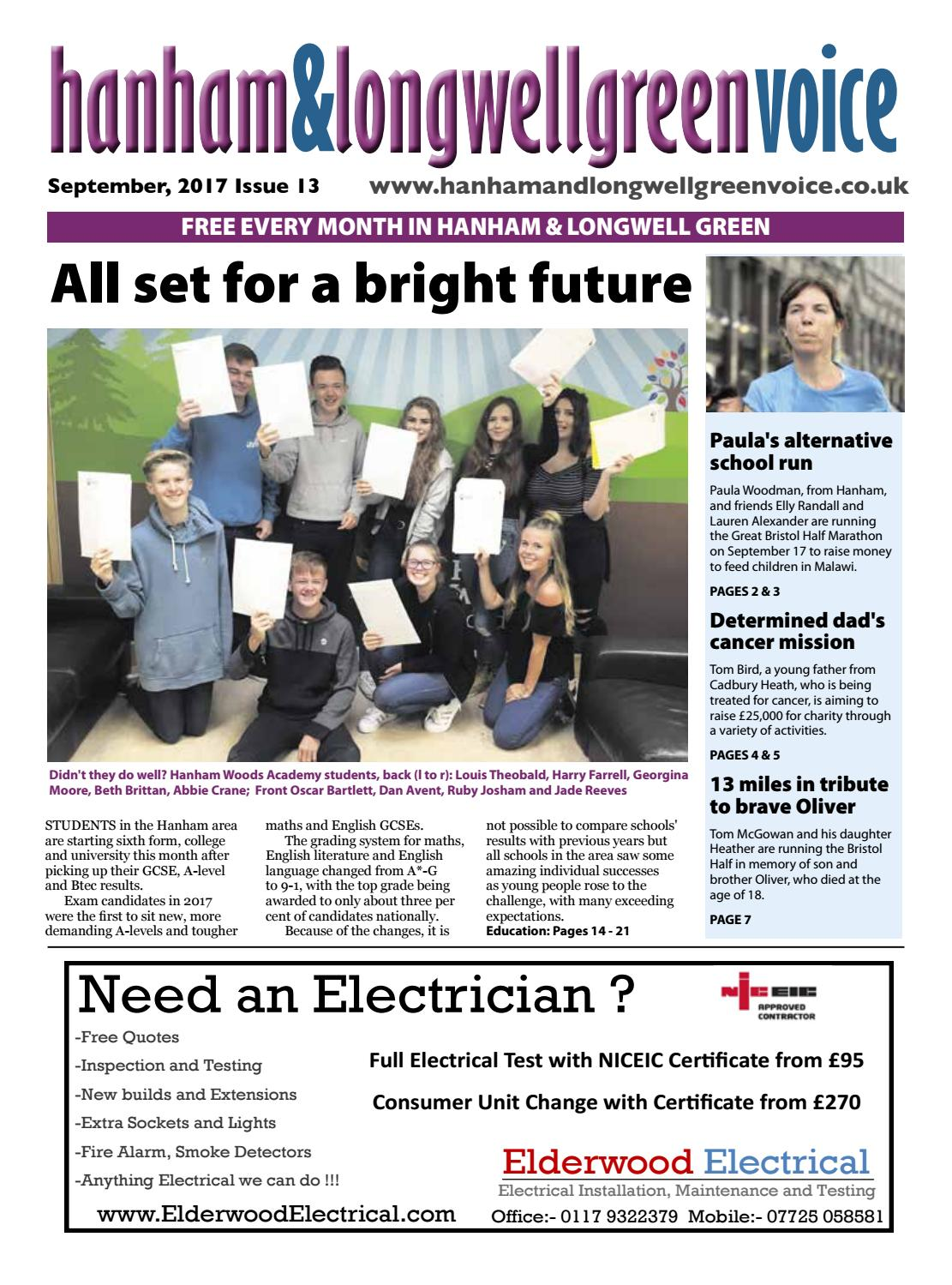 1a1eff159 Hanham & Longwell Green Voice September 2017 by Emma Cooper - issuu