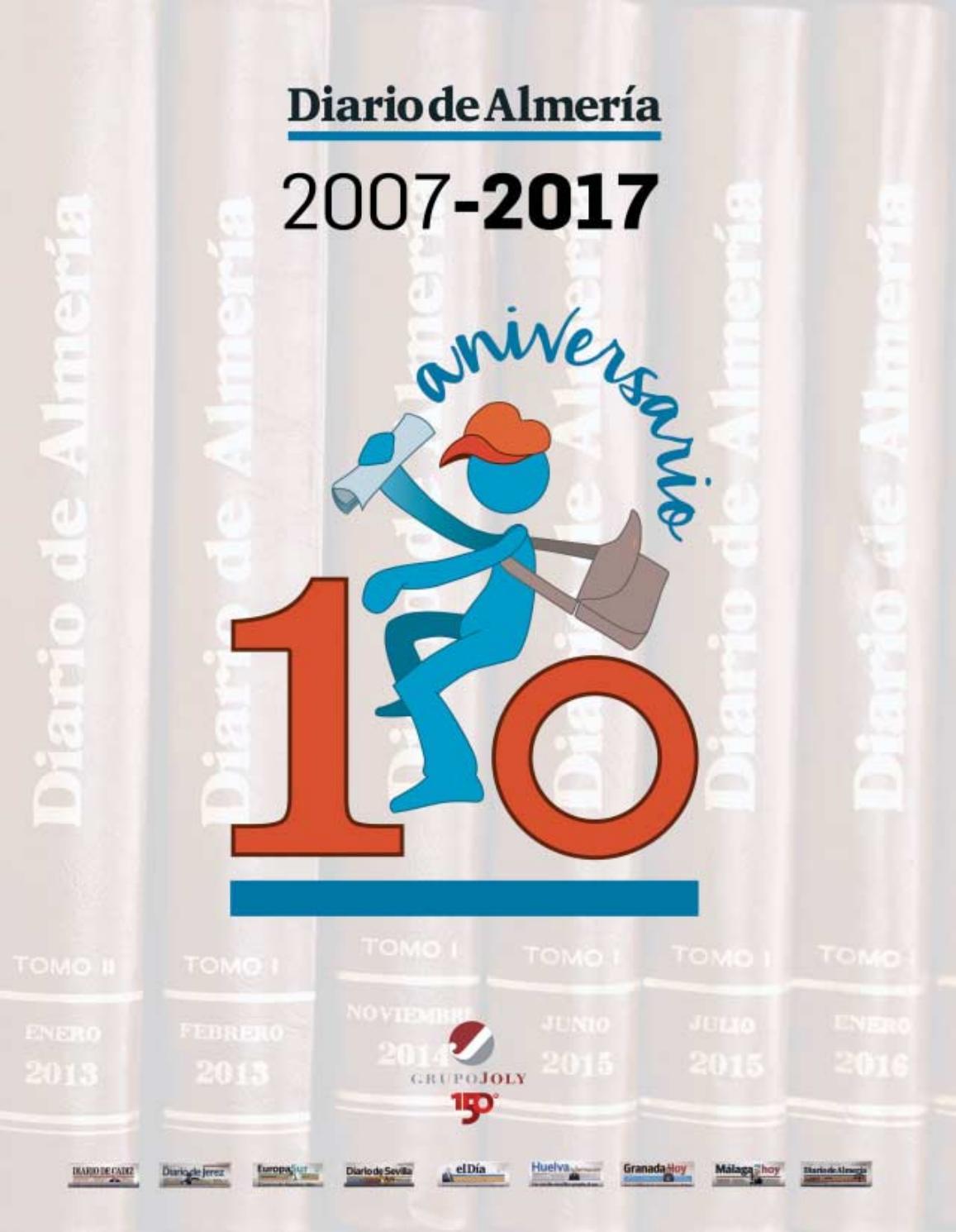 Diario De Almer A 10 Aniversario 2007 2017 By Joly_digital  # Muebles Lao Abrucena