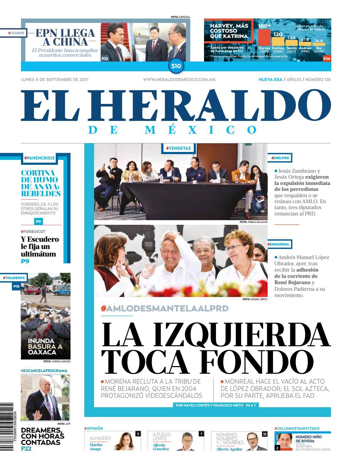 El Heraldo de México 04 de septiembre de 2017 by El Heraldo de ...