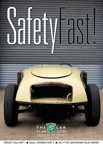 Safety Fast! September 2017 by MG Car Club - issuu