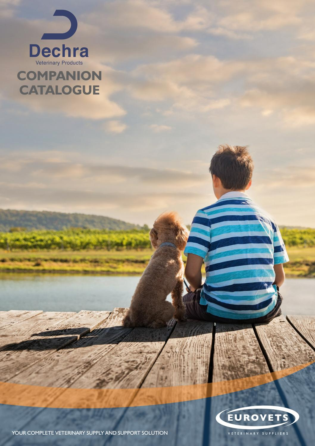 Dechra Companion Animal Catalogue by Eurovets Veterinary