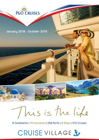 P O Cruises 2018-2019 brochure by The Travel Village Group - issuu 2c7e259a13769