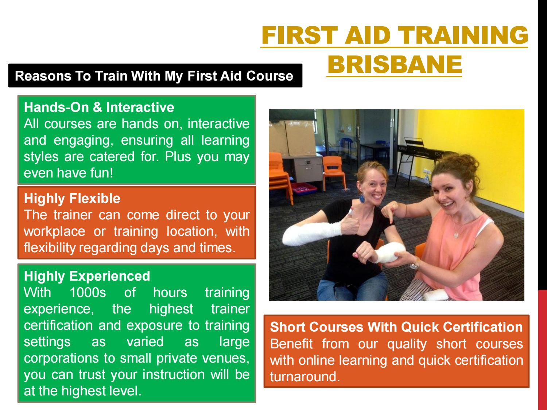 Cpr And First Aid Brisbane By First Aid Training Brisbane Issuu