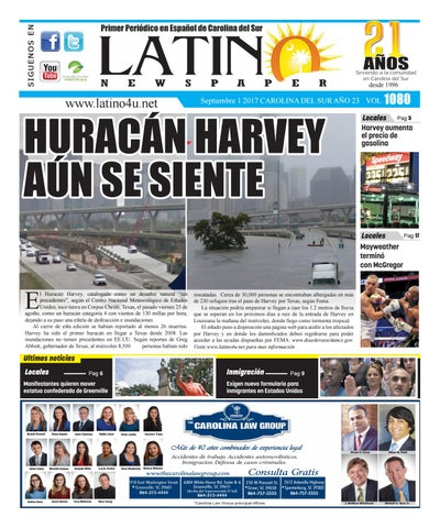 HURACAN HARVEY AUN SE SIENTE by Latino Newspaper - issuu