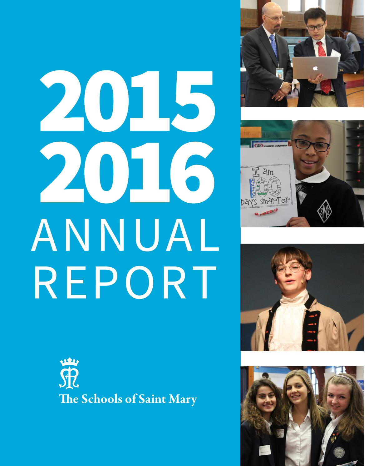 SOSM Annual Report 2015-2016 by Eileen Symmons - Issuu