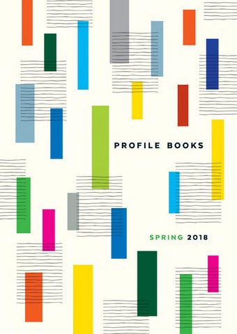 Profile Spring 2018 Catalogue By Profile Books Issuu