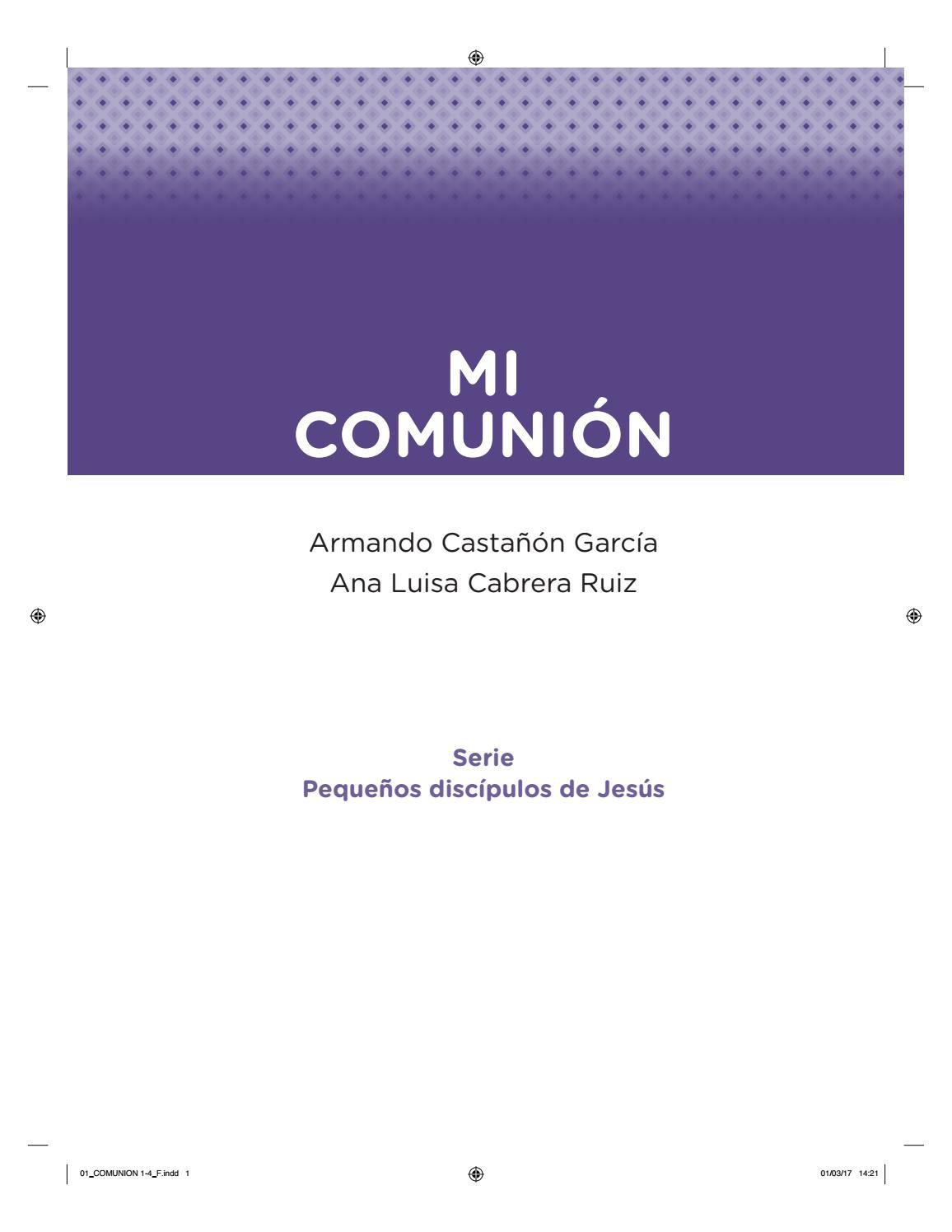 Mi comunión by Marcos huerta hernandez - issuu