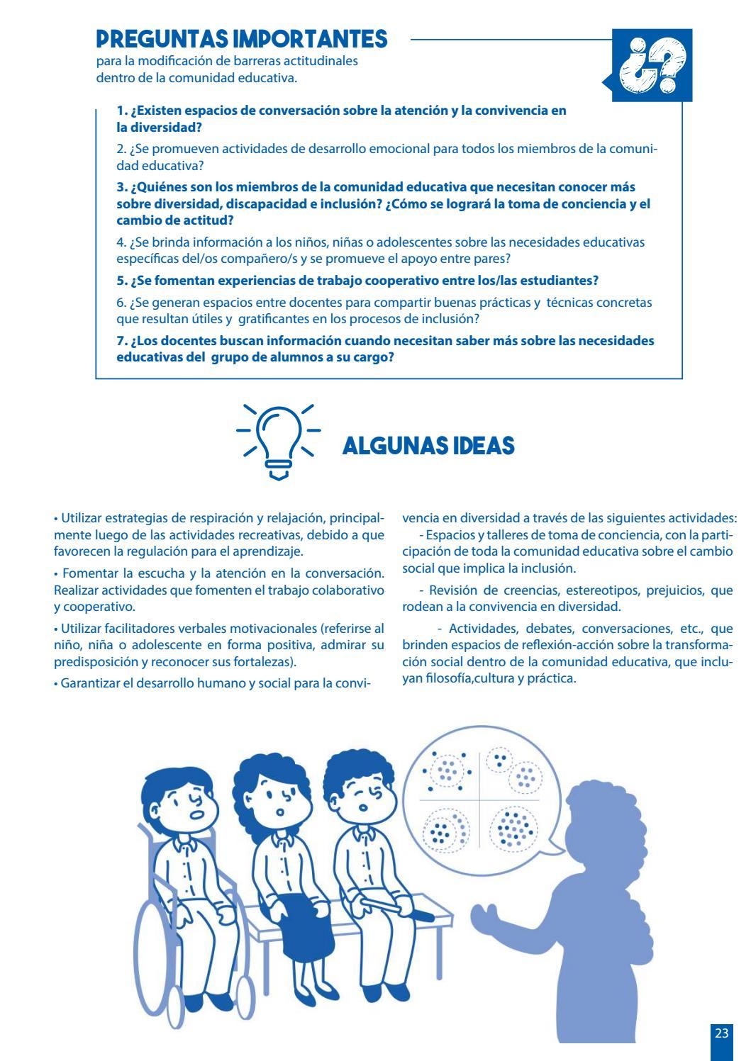 Material De Apoyo Para La Inclusión Mai By Teletón