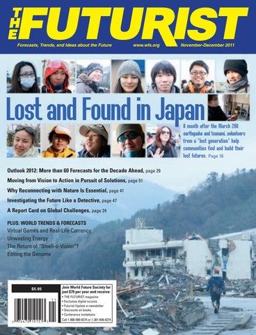The Futurist November December 2011 By World Future Society Issuu