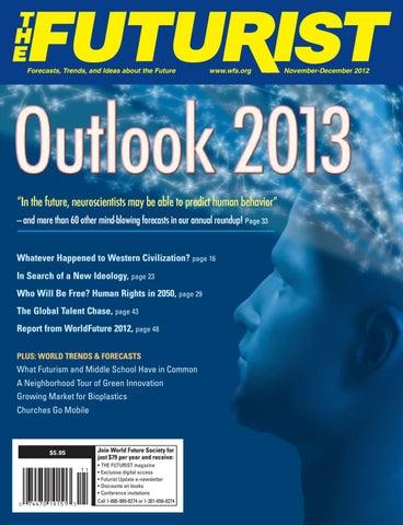 THE FUTURIST, November - December 2012 by World Future Society - issuu