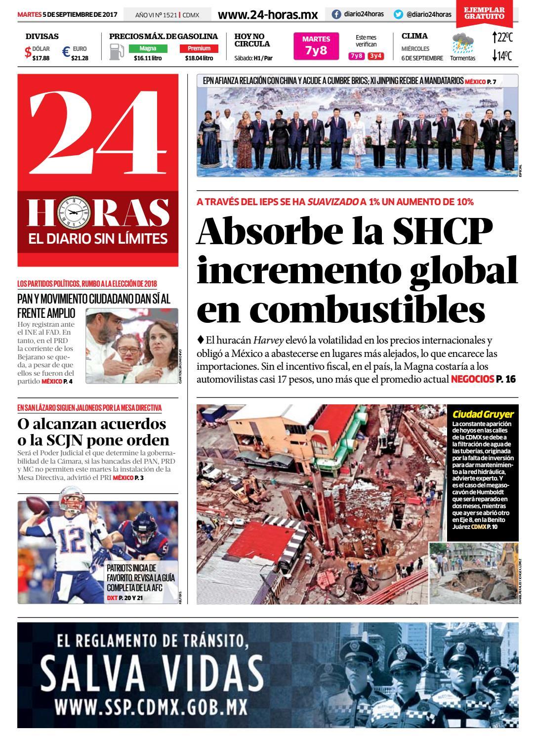 Septiembre   05   2017 by Información Integral 24/7 SAPI de C.V. - issuu