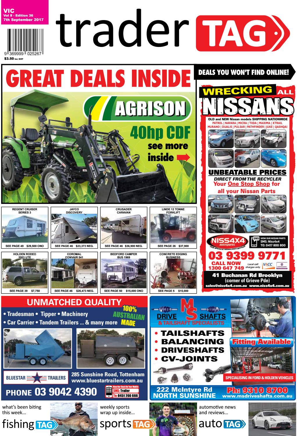 Tradertag Victoria Edition 36 2017 By Design Issuu Pilar 3 Way Type 2 For Pajero 2008 2015