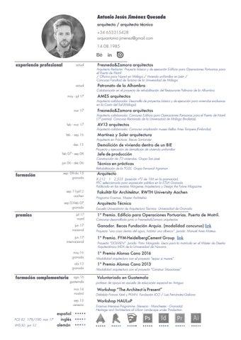 curriculum jul17 antonio jiménez quesada resumen by antonio