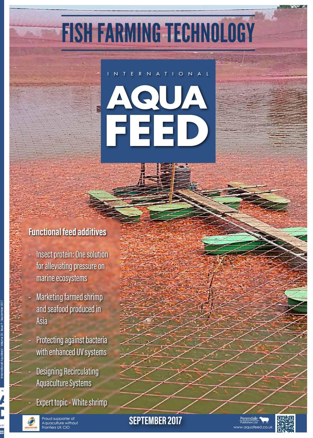 sep 2017 international aquafeed magazine by perendale publishers