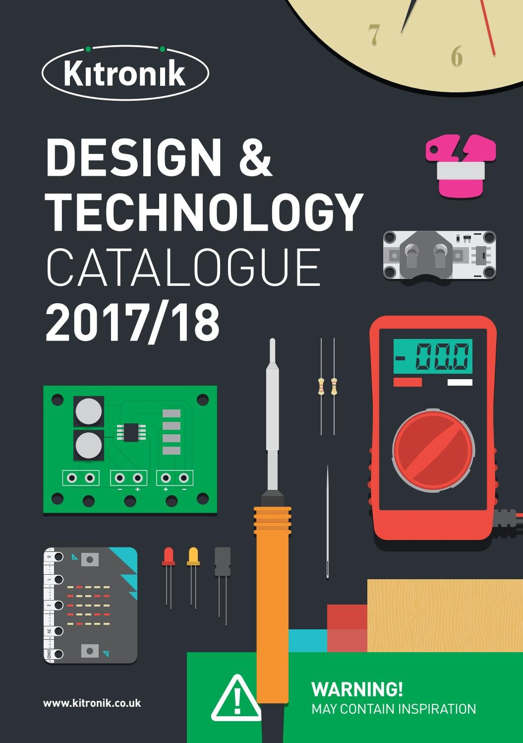 Kitronik Design Technology Catalogue 2017 2018 By Issuu Binary Counter Using 555 And 4042b Basiccircuit Circuit Diagram