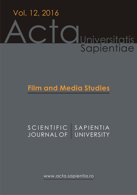 Film And Media Studies Vol 12 2016 By Acta Universitatis