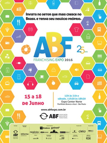 3672a07a47 Guia Oficial ABF Franchising Expo – SP 2016 by Editora Lamonica ...