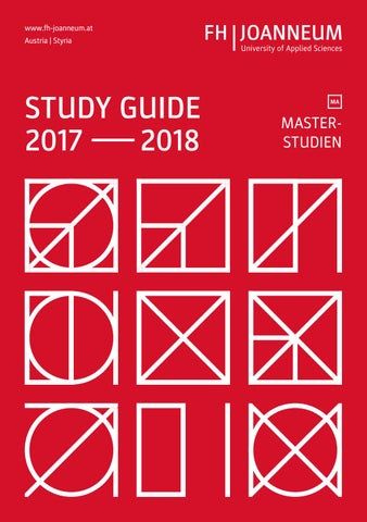 fh joanneum master thesis guide