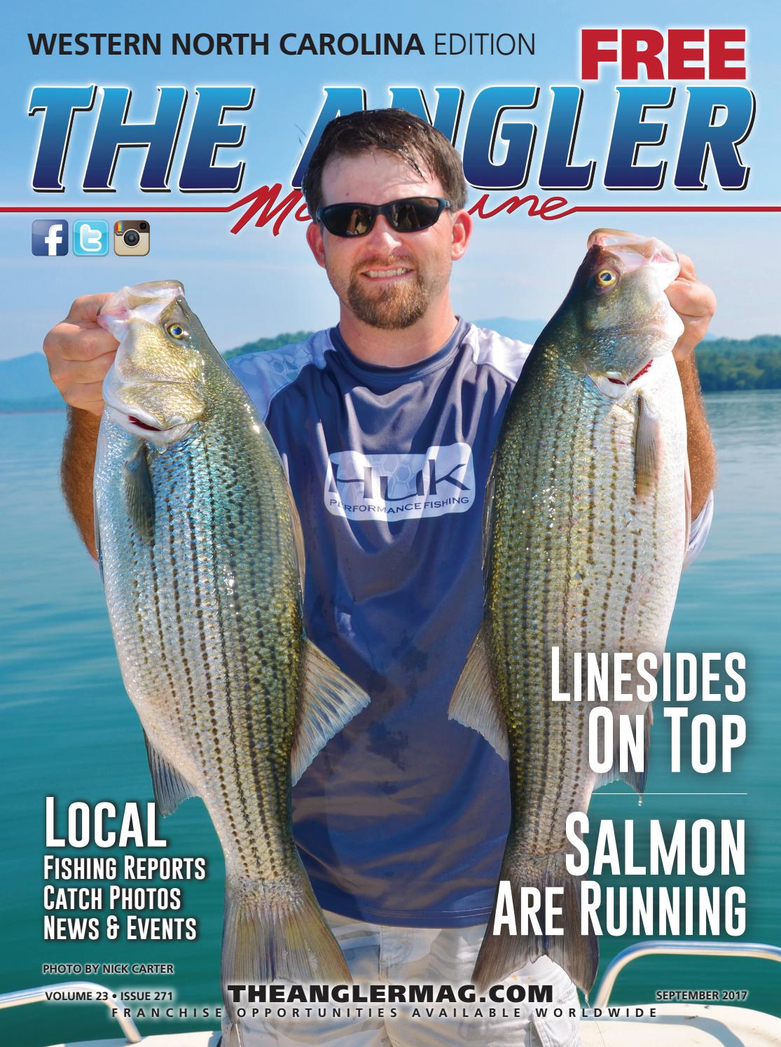 ce3a5a448f Coastal Angler Magazine - September   Western North Carolina by ...