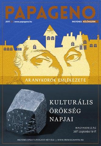 Kulturális Örökség Napjai 2017   Papageno by Papageno - issuu 17e6eb8cd2
