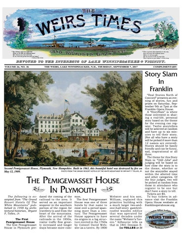 090717 Weirs Times By The Weirs Publishing Company Issuu