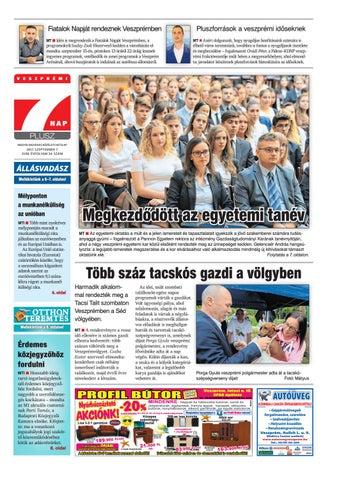 Veszprémi 7 Nap Plusz - 2017. 09. 07. by Maraton Lapcsoport Kft. - issuu 944f763f31