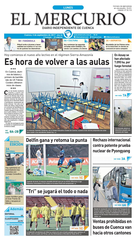 hemeroteca 04-09-2017 by Diario El Mercurio Cuenca - issuu b2b2feb599a
