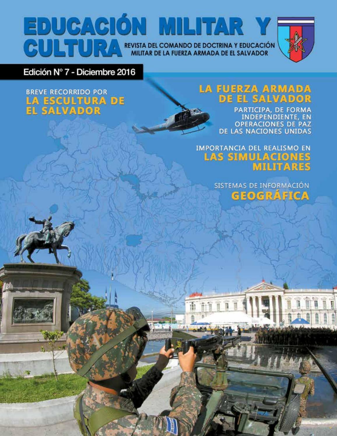 Educación militar y cultura Edición N°7 by jose Cruz - issuu