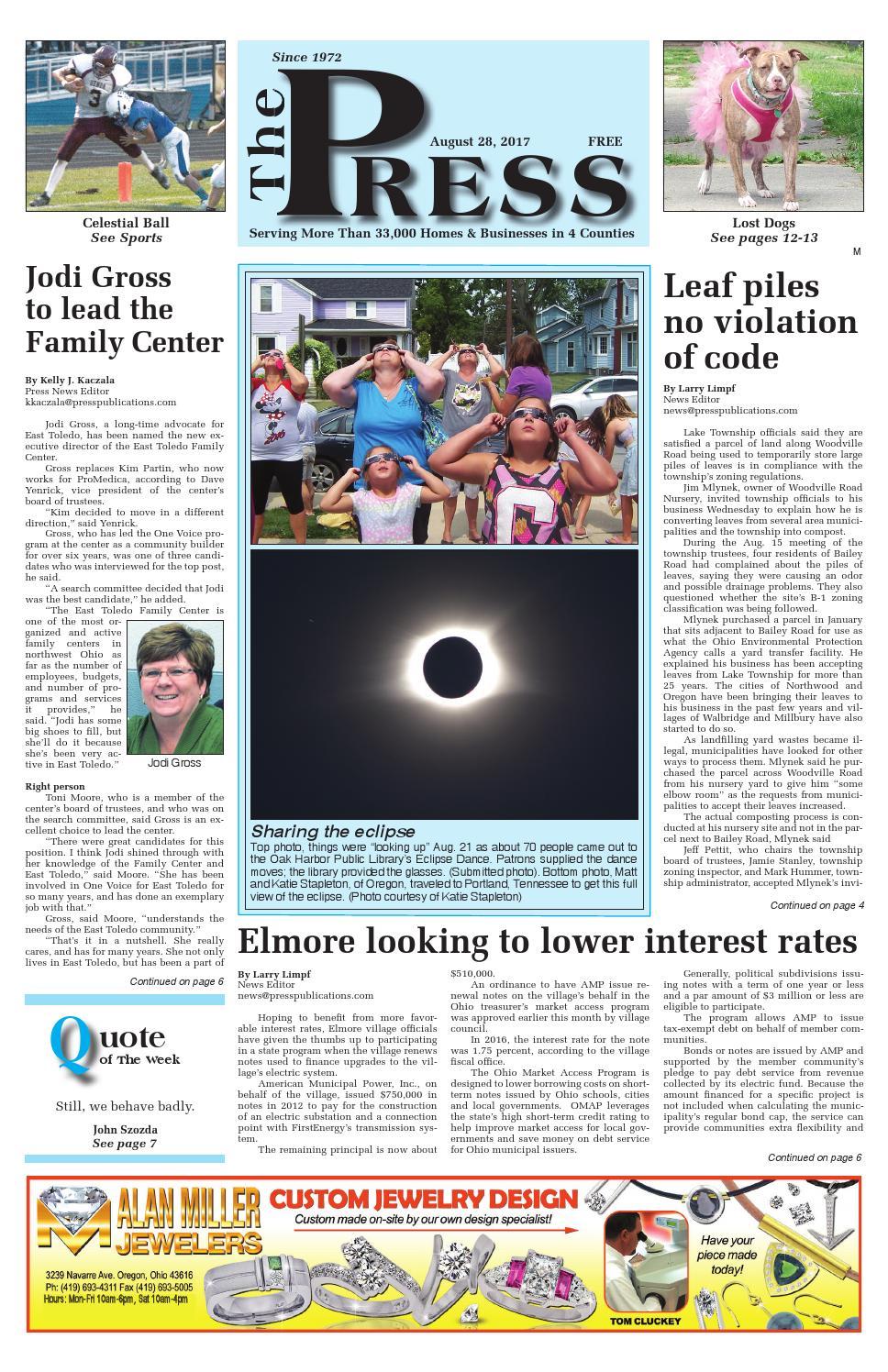 Suburban edition 8/28/17 by Press Publications - issuu
