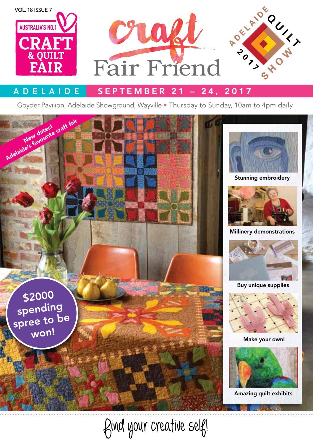 Adelaide craft fair friend 2017