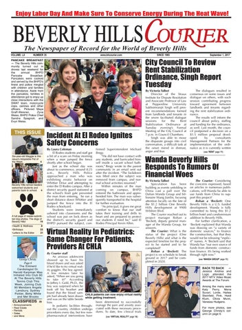 BHCourier E-edition 090117 by The Beverly Hills Courier - issuu 356c7f90354